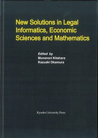 New Solutions in Legal Informatics, Economic Sciences and Mathematics